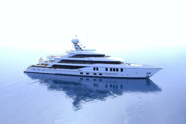 superyacht concept 1 superyacht concept Introducing a New Superyacht Concept by Nick Mezas and Amels superyacht concept 1