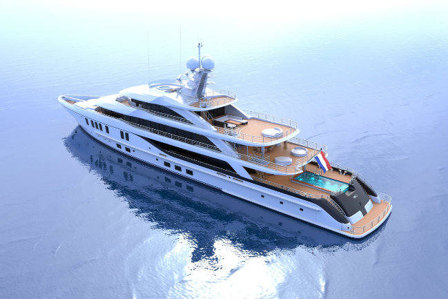 superyacht-concept-2 superyacht concept Introducing a New Superyacht Concept by Nick Mezas and Amels superyacht concept 2