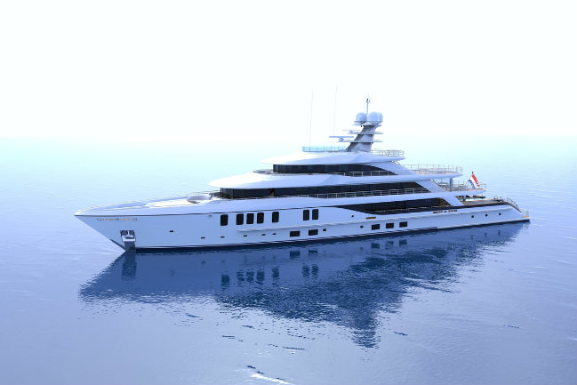 superyacht concept 3 superyacht concept Introducing a New Superyacht Concept by Nick Mezas and Amels superyacht concept 3