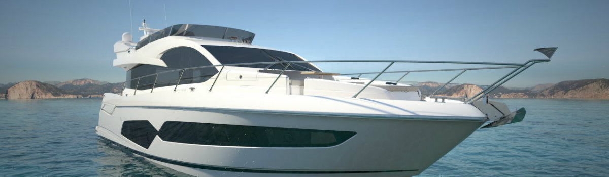 London Boat Show 2017 – Sunseeker Launches the Manhattan 66