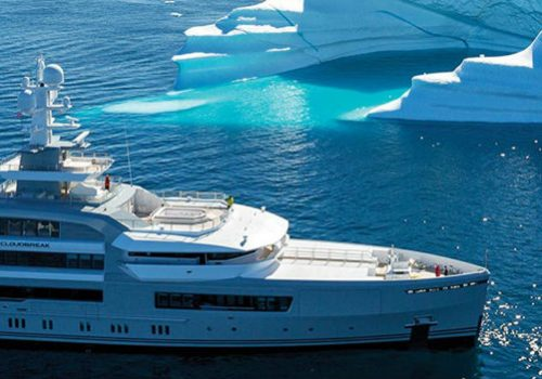 The Cloudbreak Superyacht Is the Perfect Vessel for Massive Cruises