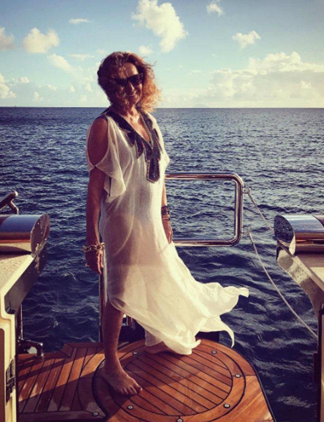 diane Luxury Yachts Yachting Spotlight: Celebrities on Luxury Yachts diane