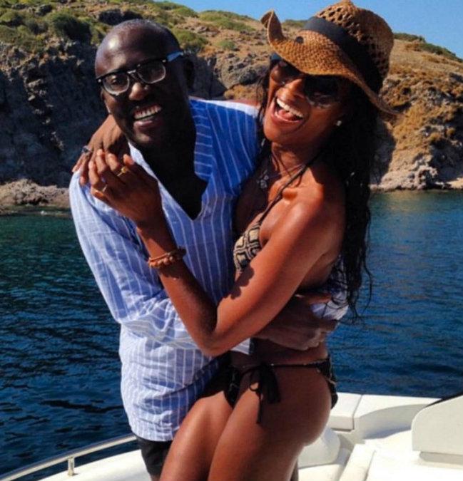 naomi-campbell-edward-enninful luxury yachts Luxury Yachts Yachting Spotlight: Celebrities on Luxury Yachts naomi campbell edward enninful