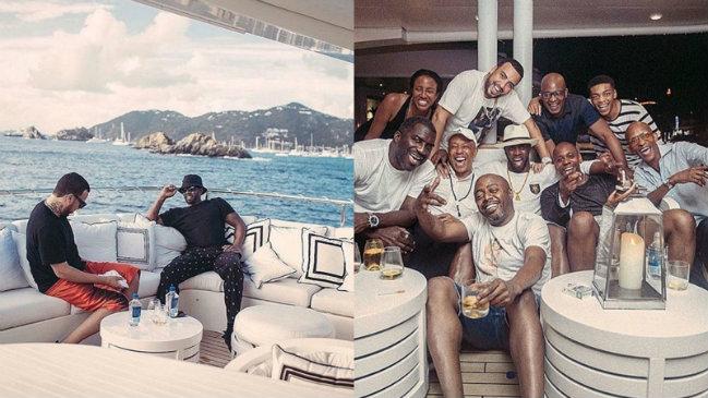 sean-combs Luxury Yachts Yachting Spotlight: Celebrities on Luxury Yachts sean combs