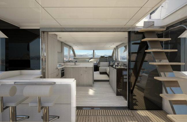sunseeker4 london boat show 2017 London Boat Show 2017 – Sunseeker Launches the Manhattan 66 sunseeker4