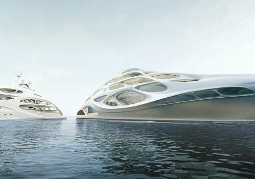 Throwback Tuesday: Zaha Hadid and Blohm+Voss' Marvellous Superyacht