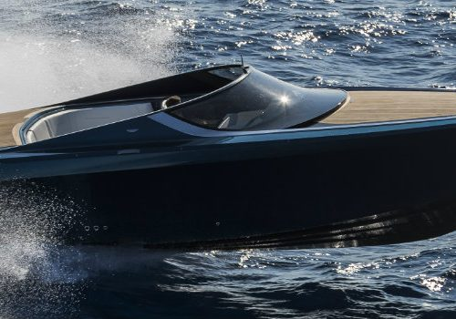 Contemplate the Splendour of the Very First Aston Martin Powerboat