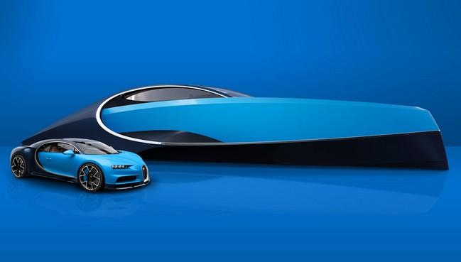 Bugatti Niniette 66-Yacht-5 bugatti niniette 66 The Dazzling Bugatti Niniette 66 by Bugatti and Palmer Johnson Bugatti Niniette 66 Yacht 5