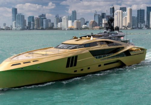 A Colourful Selection of Attention-Grabbing Luxury Yachts