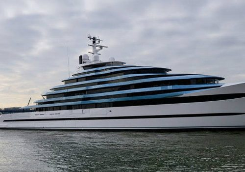 Jubilee by Oceanco – The Largest Luxury Yacht in the Netherlands