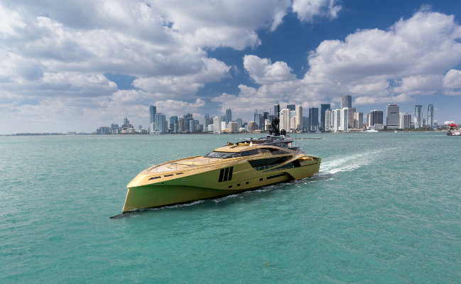 khalilah Luxury Yachts A Colourful Selection of Attention-Grabbing Luxury Yachts khalilah