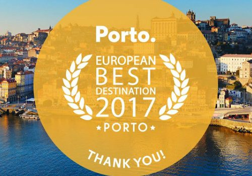 Porto was Awarded Best European Destination 2017 for the Third Time