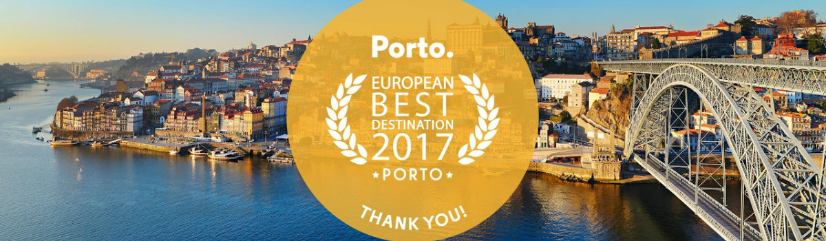featured best european destination Porto was Awarded Best European Destination 2017 for the Third Time featured 2