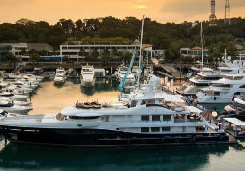 The Most Expensive Luxury Yachts Displayed at Singapore Yacht Show