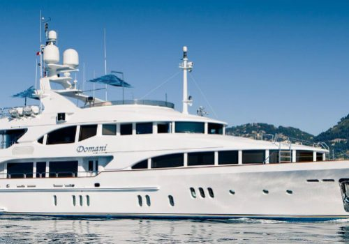 Meet the Extraordinary Domani Superyacht by Benetti