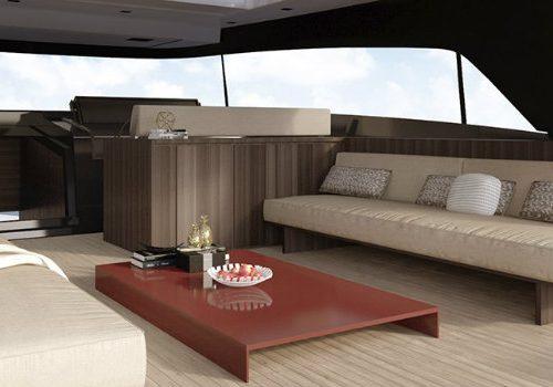 Luxury Yacht Interiors – Sanlorenzo SX88 Luxury Yacht by Piero Lissoni