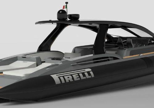 Pirelli Tecnorib's 1900 Boat Debuts at Cannes Yachting Festival 2017