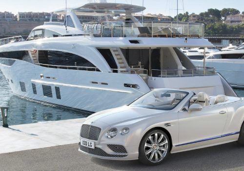 Bentley Motors' New Continental GT Design Inspired by Luxury Yachts