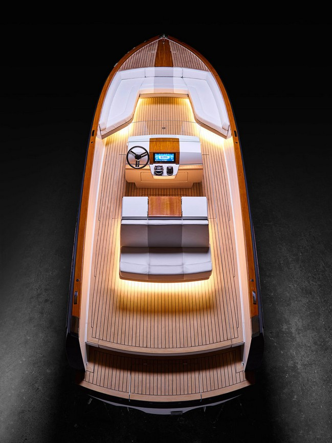 Meet the World's First Completely Electrical Yacht by Hinckley Yachts 2