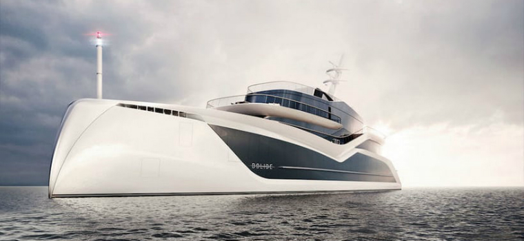 Luxury Yacht Concept Contemplate a Masterful Luxury Yacht Concept by Tankoa Yachts FEATURED