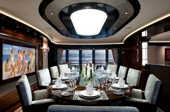 The Excellence V Superyacht Personifies Luxury Living by the Water 4 luxury living The Excellence V Superyacht Personifies Luxury Living by the Water The Excellence V Superyacht Personifies Luxury Living Like No Other 3