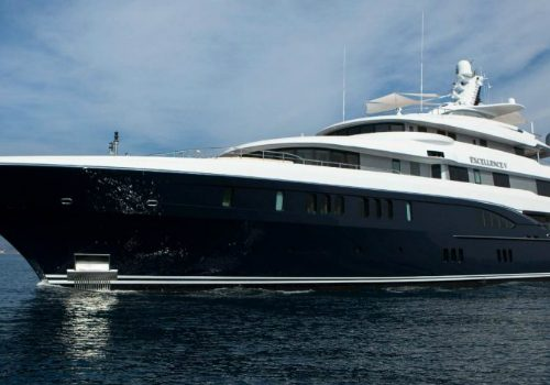The Excellence V Superyacht Personifies Luxury Living by the Water