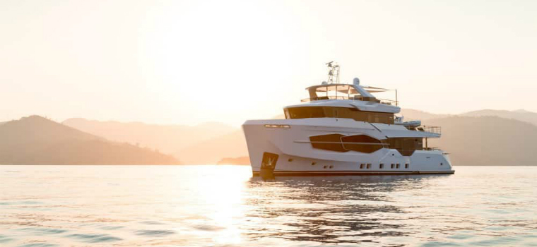 Luxury Yachts – Admire the Stylish Structure of Numarine's Marla Yacht