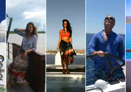 7 Interesting Celebrity Photos Taken On Luxury Yachts