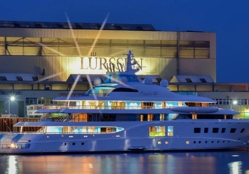 Lürssen' Quantum Blue Is The Definition of a Relaxing Yacht Experience