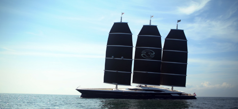 Oceanco's Black Pearl to Become the Largest Sailing Yacht In the World