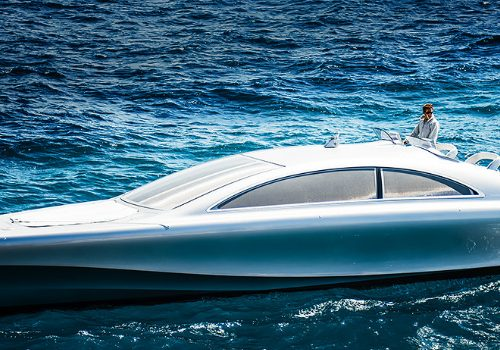 Be In Awe of the Silver Arrow of the Seas by Mercedes-Benz Style
