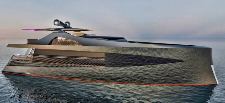 superyacht concept Meet the Latest Superyacht Concept in the Industry: Project Arnela featured