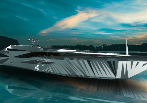 Introducing George Lucian's Luxury Yacht Design Inspired by the Future