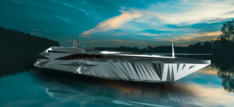 luxury yacht design Introducing George Lucian's Luxury Yacht Design Inspired by the Future featured 6