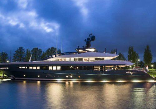 Irisha Motor Vessel Is the Lastest Sleek Design by Heesen Yachts