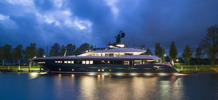 heesen yachts Irisha Motor Vessel Is the Lastest Sleek Design by Heesen Yachts featured