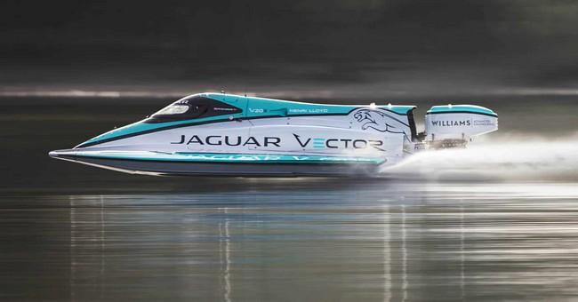 Jaguar V20E Classified as the Fastest Electric Motorboat in the World jaguar v20e Jaguar V20E Classified as the Fastest Electric Motorboat in the World Jaguar V20E Classified as the Fastest Electrict Motorboat in the World 1