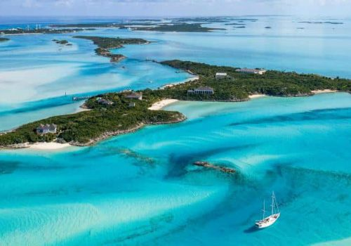 Just Imagine Living in this Outstanding Private Island in the Bahamas