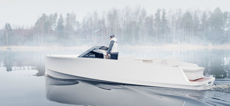 minimalist design Meet the Minimalist Design of Q-Yachts' Latest Electric Motor Yacht featured 3