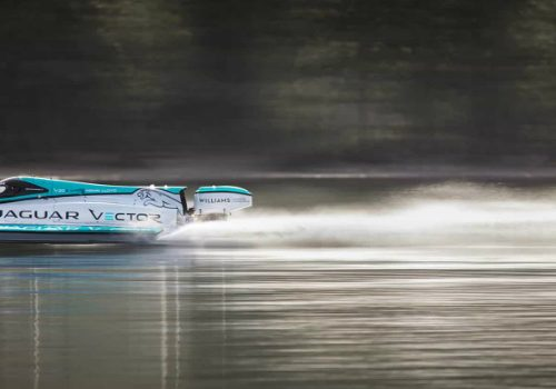 Jaguar V20E Classified as the Fastest Electric Motorboat in the World