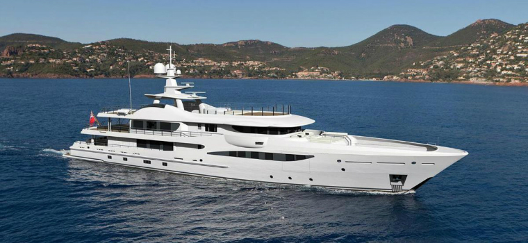 Monaco yacht Show Amels 180 Superyacht to Be on Showcased at the Monaco Yacht Show 2018 featured 3