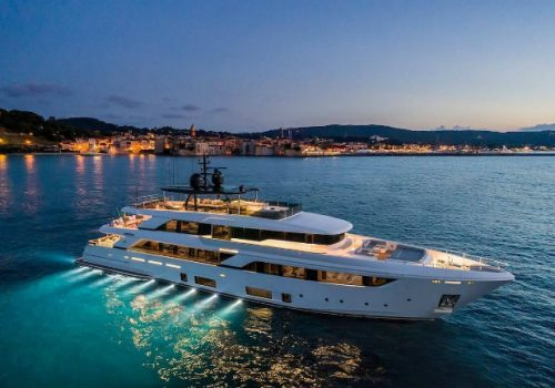 Navetta 42: Custom Line's Largest Yacht up to date