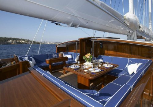Currently for sale: Royal Huisman's sailing yacht Meteor