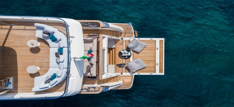 Navetta 42: Custom Line's Largest Yacht up to date Custom Line Navetta 42: Custom Line's Largest Yacht up to date img2 3