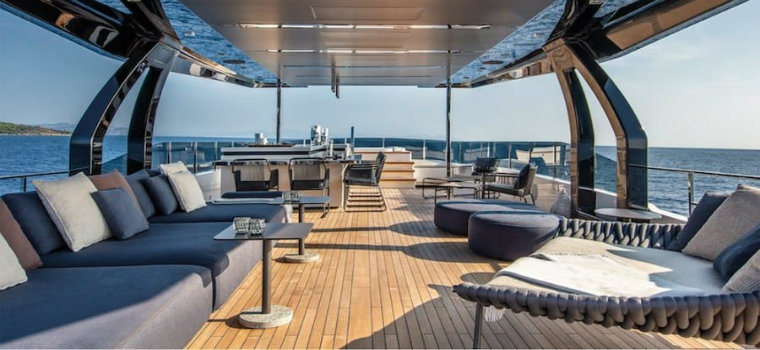 Navetta 42: Custom Line's Largest Yacht up to date Custom Line Navetta 42: Custom Line's Largest Yacht up to date img3 3