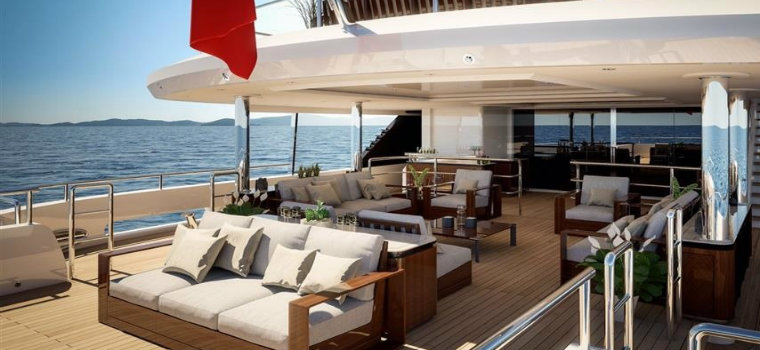 Benetti Fast and comfortable: it's Spectre the new superyacht by Benetti 32372 benetti delivers 69m spectre