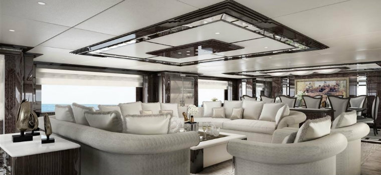 Benetti Fast and comfortable: it's Spectre the new superyacht by Benetti 32378 benetti delivers 69m spectre