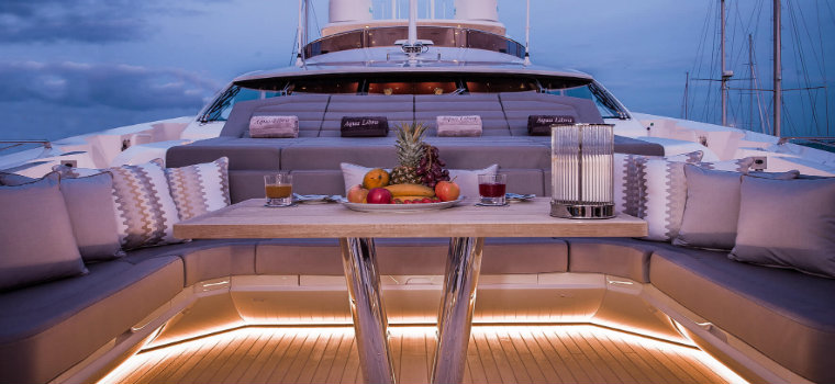 yachts These are some of the most notable new yachts launched in 2018 AquaLibraYacht1