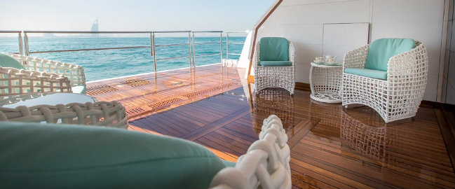 Gulf Craft Have a look inside Gulf Craft's first Majesty 140 DESTAQUE 11