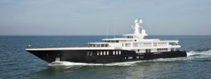 The incredible Yacht Air once rumored to belong to George Clooney